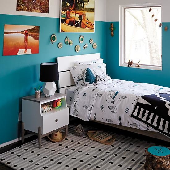 Kids Two Toned Wrightwood Bed