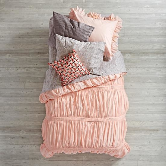 Modern Chic Pink Girls Bedding