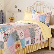 LAND OF NOD GIRLS BEDDING