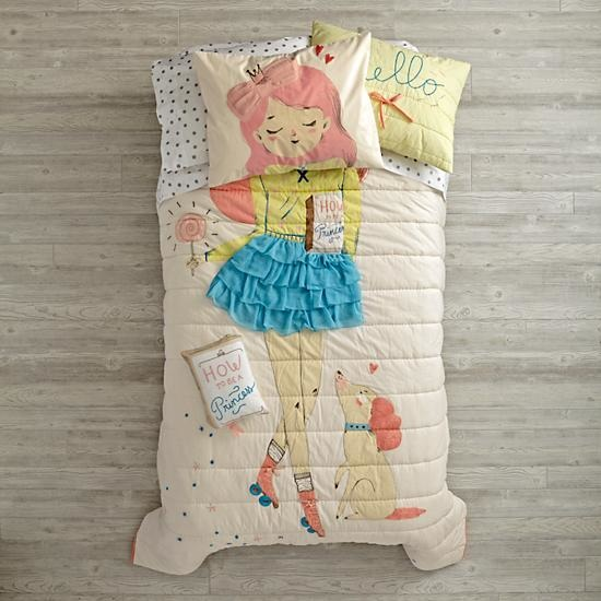 Wardrobe Change Girls Bedding