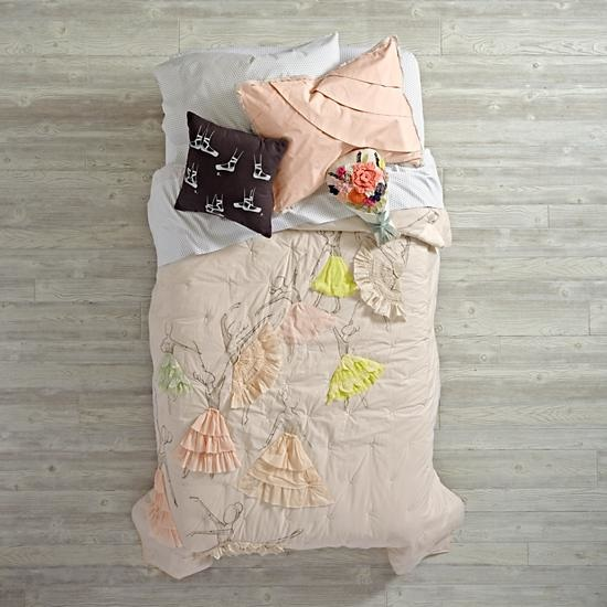 Pink Ballet Pirouette Girls Bedding
