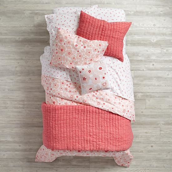 Pink Go Lightly Girls Bedding
