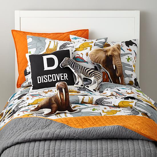 Welcome To The Jungle Boys Bedding