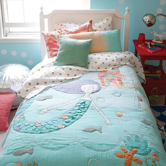Mermaid Mixer Girls Bedding