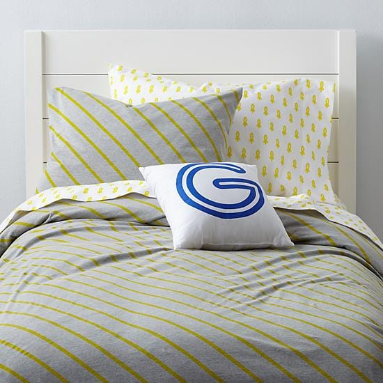 Yellow Little Prints Girls Bedding