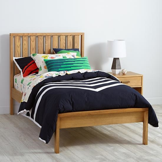 Cargo Low Footboard Bed Natural