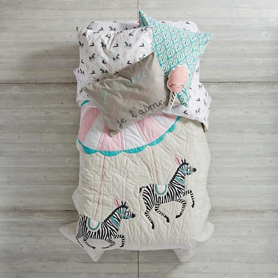 Carousel Girls Bedding
