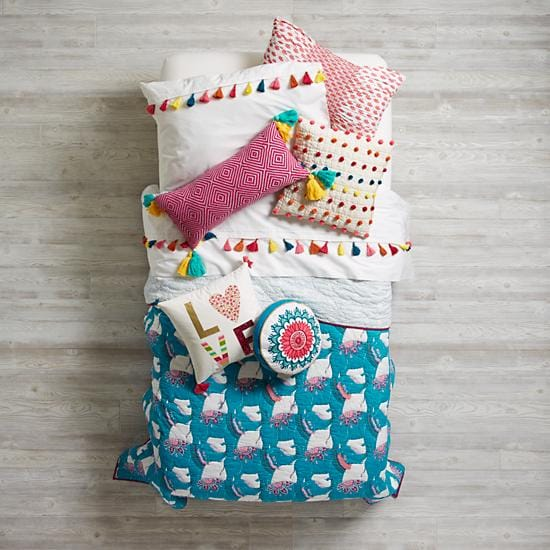 Modern Mosaic Girls Bedding