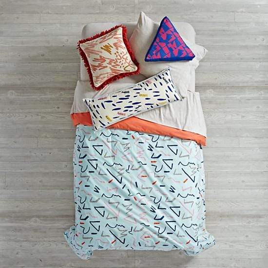 Ticker Tape Girls Bedding