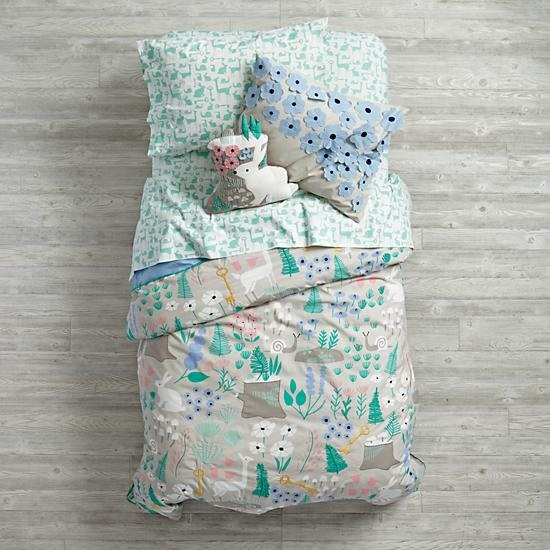 Folktale Forest Girls Bedding