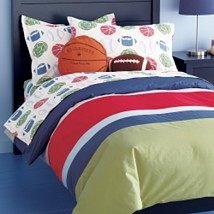 LAND OF NOD BOYS BEDDING