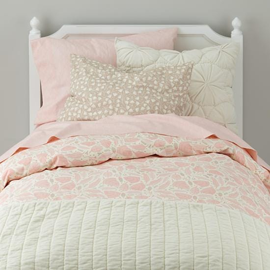 Pink Forest Well Nested Organic Girls Bedding