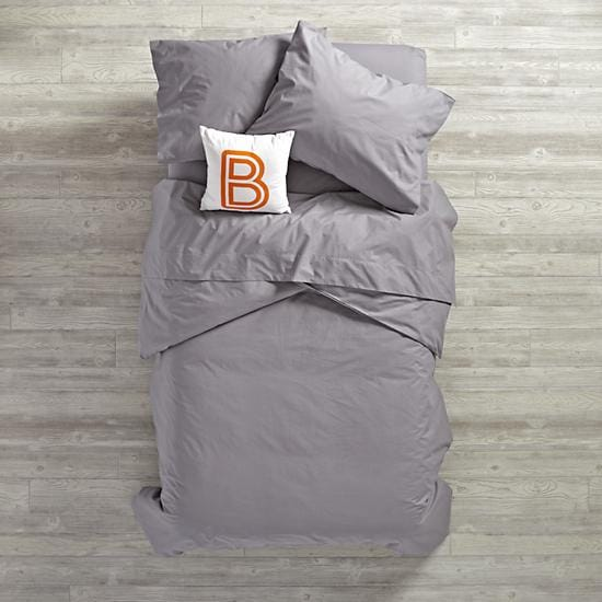 Simply Grey Girls Bedding