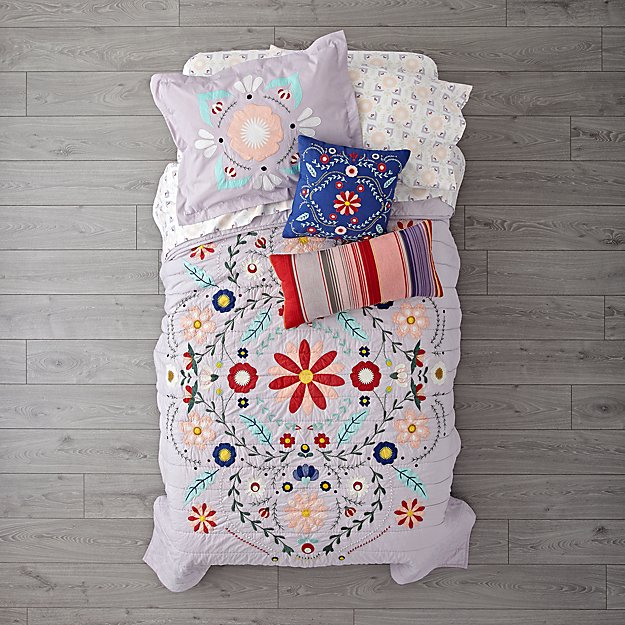 Baja Garden Girls Bedding