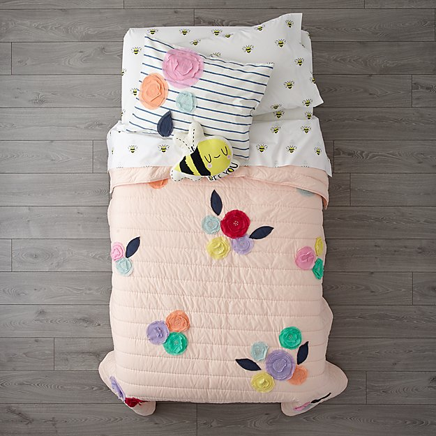 Bee's Knees Girls Bedding