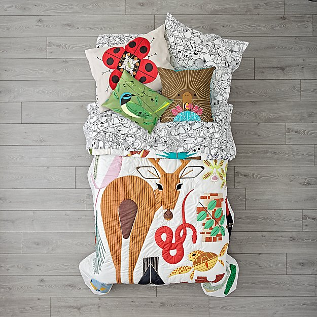 Charley Harper Florida Keys Girls Bedding