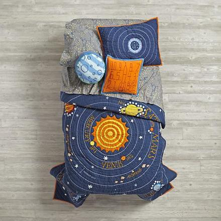 All Solar Systems Go Kids Bedding