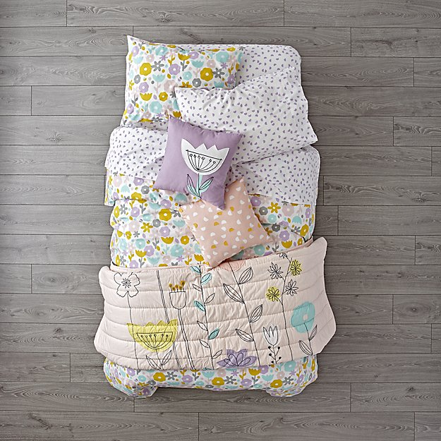 Floral Suite Girls Bedding