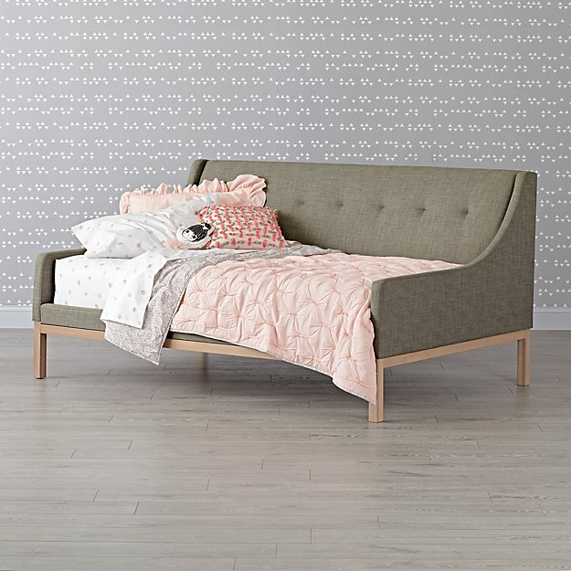 Gallery Grey Upholstered Daybed
