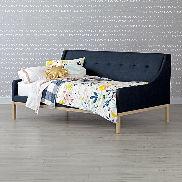 ​Gallery Navy Upholstered Daybed