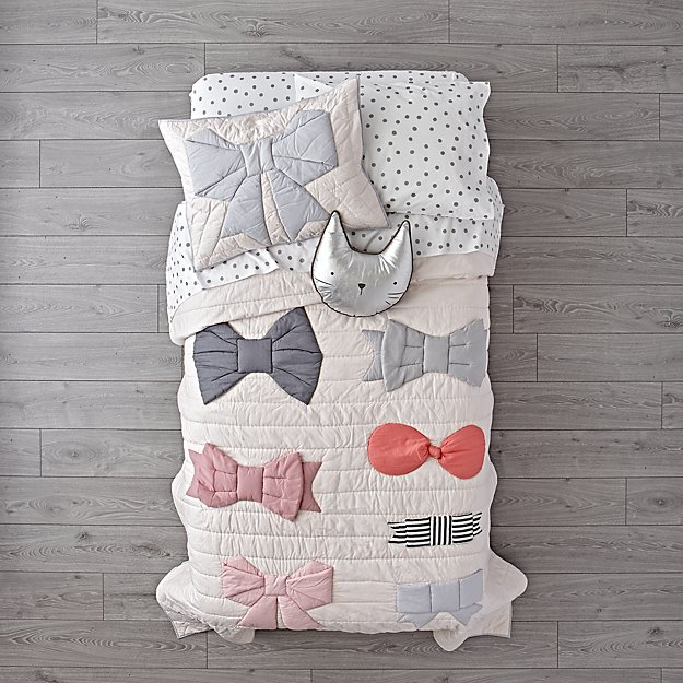 Little Bow Girls Bedding