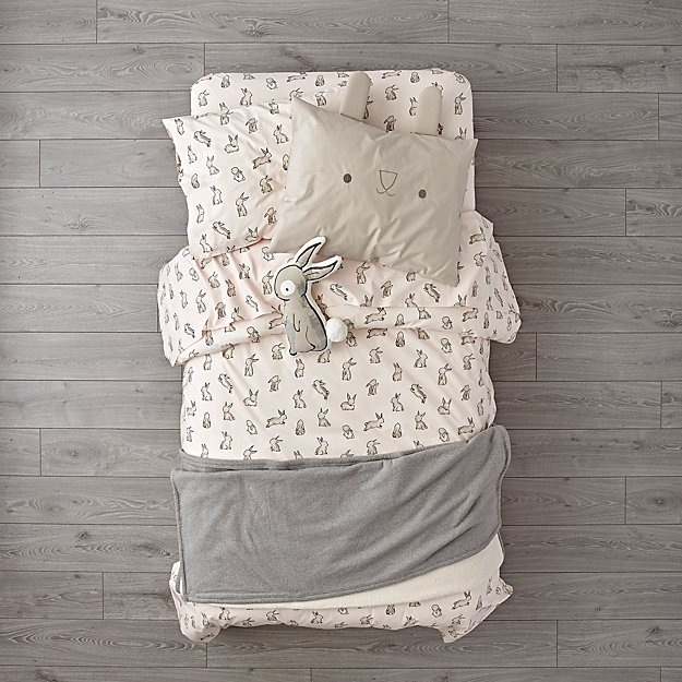 Organic Bunny Girls Bedding