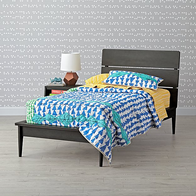 Wrightwood River Blue Twin Bed